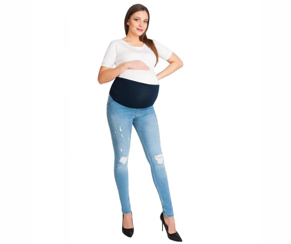 dżinsy ciążowe