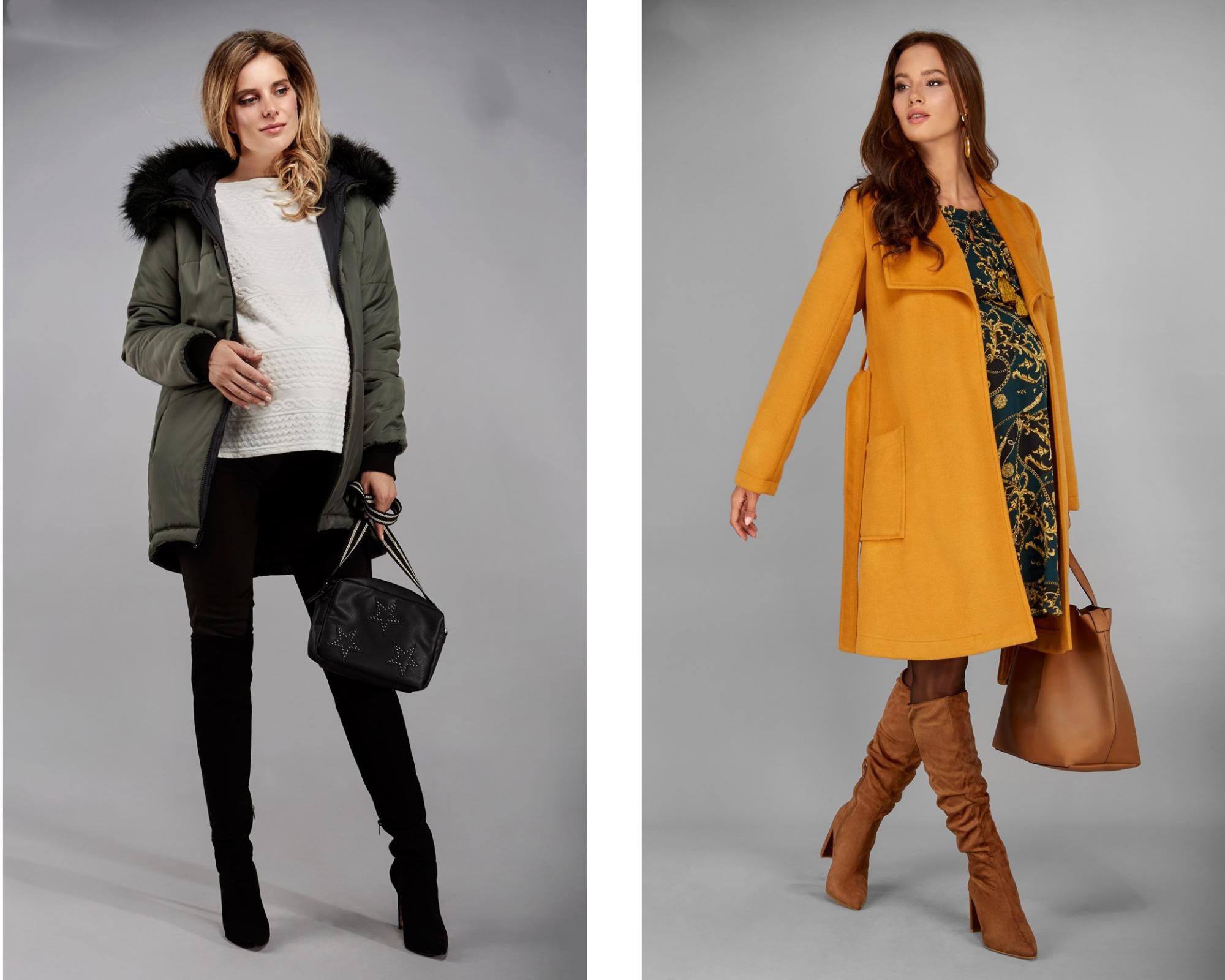 kurtka i płaszcz ciążowy
